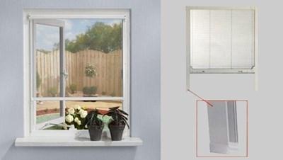 Top Insektnet til vinduer og døre efter mål - Tidens Design, Stege MX66